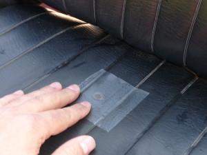 Repair Tape für Sitzbänke